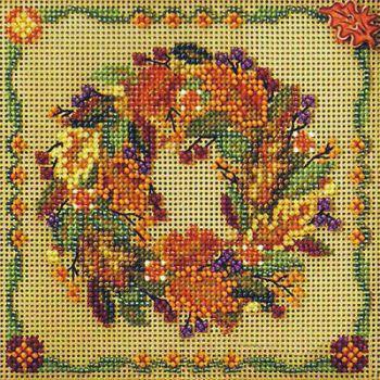 Autumn Wreath MH14-7205 / Осенний венок