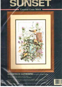 Goldfinch Gathering 13641 / Скопление Щеглов