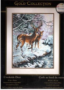 Creekside Deer 35182 / Олени у ручья