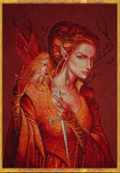 a-La Reine des Fees (The Queen of the Fairies) 107-G004 MK / Королева Фей