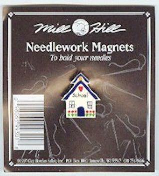 Needlework Magnet School House MHMAG1 / Магнит Школа