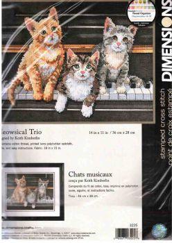 Meowsical Trio 3225 / Мяукающее трио
