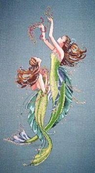 Mermaids Of The Deep Blue MD85 / Русалочки морских глубин