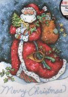 Merry Christmas Santa 8825 / Счастливый рождественский Санта
