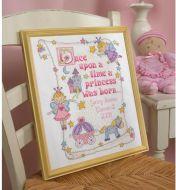 Princess Birth Record 45328 / Детская метрика Принцесса