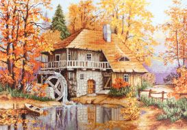 Осенний пейзаж В481