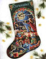 Must Be St. Nick Stocking 8567