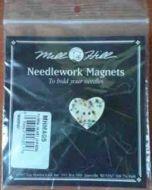 Needlework Magnet Floral Heart MHMAG5/ Магнит Цветочное сердце
