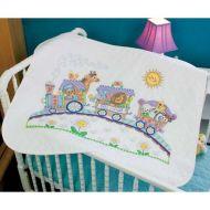 Baby Express Quilt 73427 / Детское одеяло Паровозик экспресс