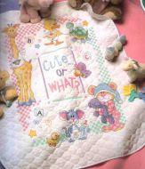 Cute...or What Baby Quilt 72724 / Детское одеяльце Милые...или какие?