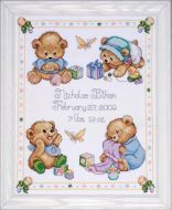 Baby Bear Sampler T21711 / Сэмплер Мишки
