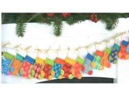 Advent Stocking Garland 72-08280 / Рождественская гирлянда из сапожков