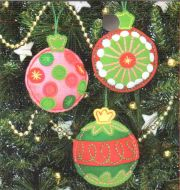 Simle Cheer Ornaments 72-08184 / Простые веселые Орнаменты