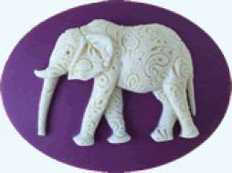 Needle Minder Paisley elephant / Магнит Слон в узорах