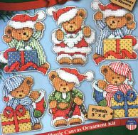 Little Bear Ornaments 1653 / Орнаменты Маленький мишка