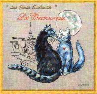 Les Chamoureux ( Les Chats Enchantes ) 114-P004 K / Влюбленные
