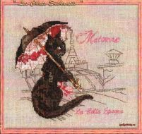 La Belle Epoque, Matouvue 118-P008 K / Кошка под зонтиком