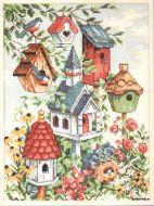 Birdhouse Neighbors 7875 / Соседние скворечники