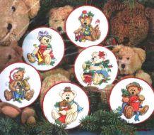 Teddy Treasures Ornaments 8705 / Орнаменты Сокровища Тедди