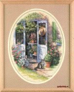 Garden Door 35124 / Садовая дверь (Китай)