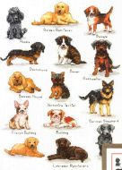 Dog Sampler 70-35353 / Семплер с собачками