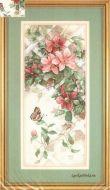Butterfly & Сlematis 13686 / Бабочкa и Клематис