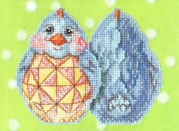 Blue Chick JS18-1711 / Синий цыпленок