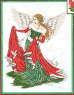 Christmas Angel JE040 / Рождественский ангел (схема)
