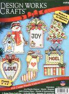 Country Christmas Ornaments 1683 / Орнаменты В стране рождества