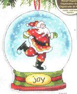 Joy Snow Globe Ornament 70-08905 / Орнамент Cнежный шар радость