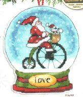 Love Snow Globe Ornament 70-08903 / Орнамент Снежный шар любовь