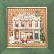Daily News Christmas Village MH14-1934 / Рождественская деревня: Ежедневные новости