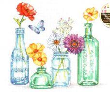 Wildflower Jars 70-35397 / Банки с полевыми цветами