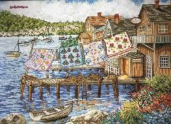 Dockside Quilts 2780 / Одеяла в доке