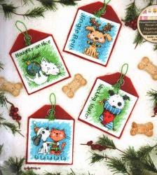 Pet Ornaments 70-08907 / Орнаменты с животными