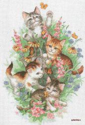 Playful Kitties 35066 / Играющие котята
