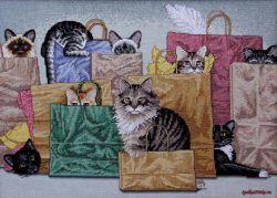 Bag Ladies 13662 / Кошки в сумочках