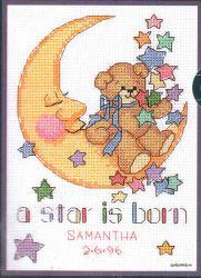 A Star is Born 16625 / Детская Метрика Рождение Звезды