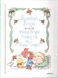 Guardian Angel 16585 / Детская метрика Ангел-хранитель