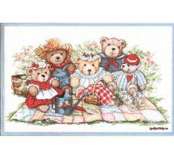 Teddy Bear Picnic 3809 / Пикник Мишек Тедди