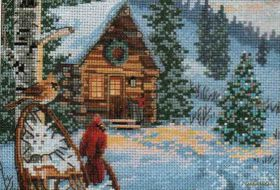 Winter Hideaway 08745 / Зимнее убежище