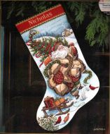Santa`s Journey Stocking 8752 / Сапожок Путешествие Санты