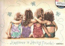 Happiness is Having Friends! 35241 / Счастье-это когда есть Друзья!
