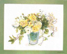 Желтые Розы FU-609