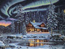 Aurora Cabin 35212  / Северное сияние