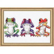 Tree Frog Trio 16758 / Трио лягушек