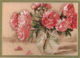 Peonies in Vase 65048 / Пионы в Вазе (США)