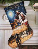 Holy Night Stocking 70-08838 / Сапожок Священная Ночь