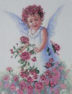 Rose Petal Angel 13729 / Ангел с розами