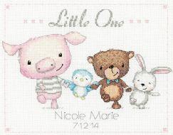 Little One Birth Record 70-74132 / Метрика Маленькая запись о рождении